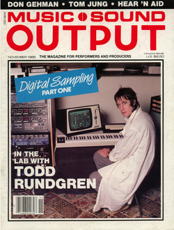 Music Sound Outpost Nov 85