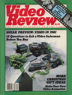 Video Review Dec 1980